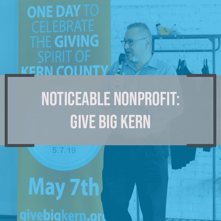 Noticeable Nonprofit: Give Big Kern