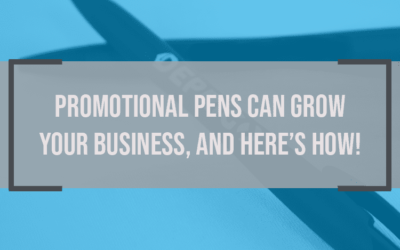 Promotional Pens Can Grow Your Business, and Here's How! (Infographic)