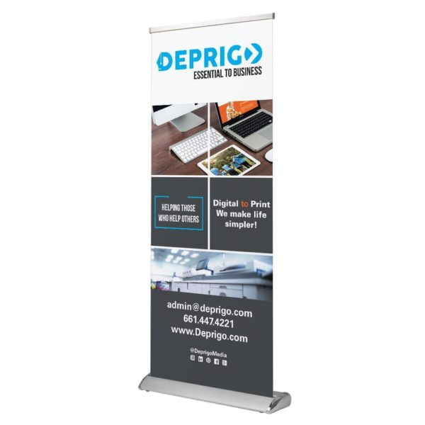 Deprigo Standard Retractable Banner