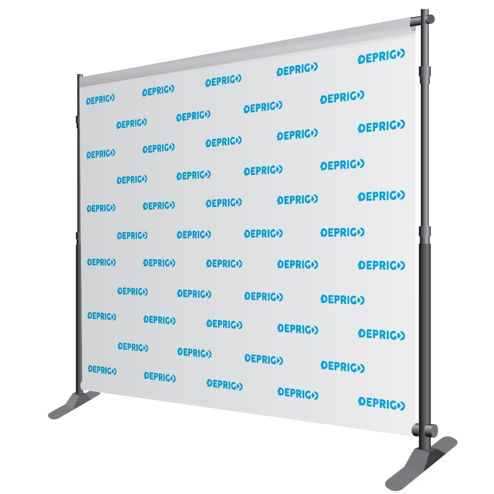 Backdrop 10ft Standard Step-N-Repeat