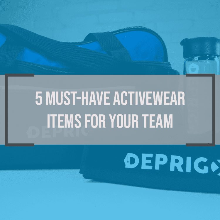 5 Must Have Active Wear Items for Your Team