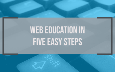 Web Education in 5 Easy Steps [Article]