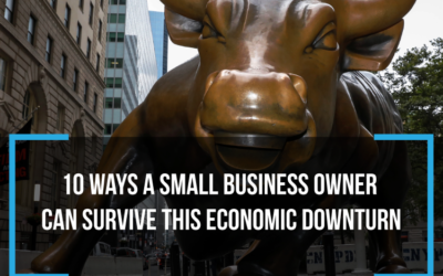 10 Ways a Small Business owner can survive this economic downturn