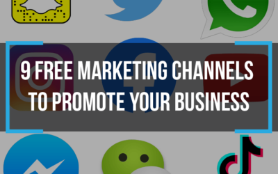 9 Free Marketing Channels to Promote your Business